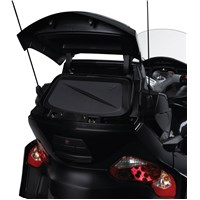 Semi-rigid Rear Top Cargo Travel Bag