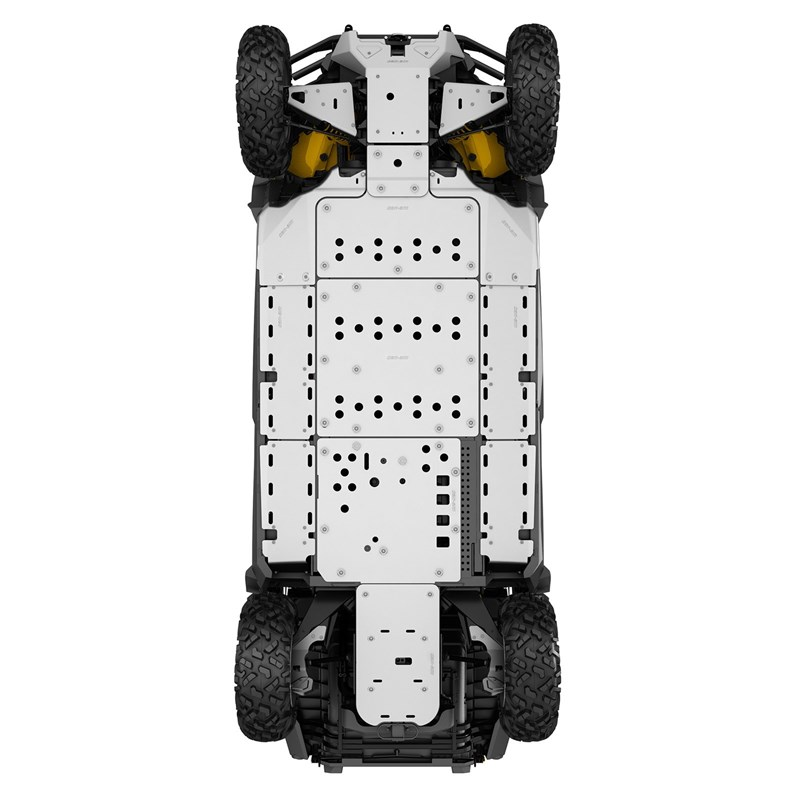 Central Skid Plate for Commander 2015 & up, Commander MAX