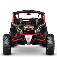 Lonestar Racing Front Bumper - Can-Am Red