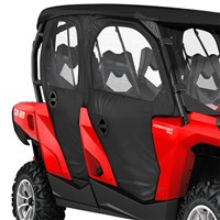 Commander MAX Doors & Rear Panel - Black