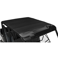 Bimini Roof with Sun Visor - Black