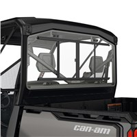 Rear Glass Window with Sliding Panel for Defender, Defender MAX