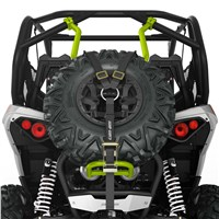 Baja-Style Spare Tire Holder for Maverick, Maverick MAX