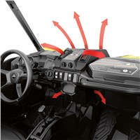 Defrost, Heat & Ventilation System for Maverick Trail, Maverick Sport