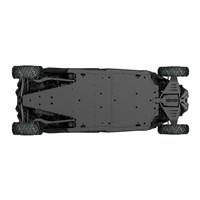 HMWPE Central Skid Plate for Maverick X3 MAX Base & X ds models