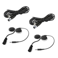 Rugged Radios Helmet Headset Kit for Rear Passengers for with Rugged Radios Intercom System