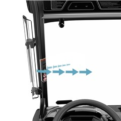 Side Wind Deflectors for Defender, Defender MAX