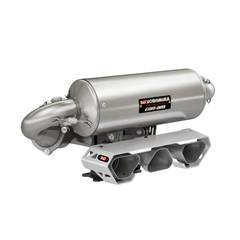 In-Line Triple Yoshimura Slip-On Exhaust