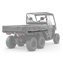 Cargo Bed Protectors and tie rails for Defender 6x6, Defender PRO