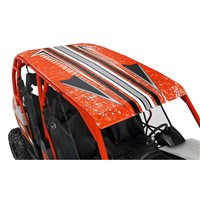 Lonestar Racing Aluminum Roof - Can-Am Red