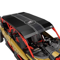 Lonestar Racing Aluminum Roof - Black (with wrap kit)