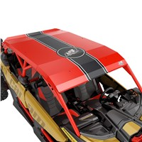 Lonestar Racing Aluminum Roof - Can-Am Red (with wrap kit)