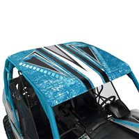 Lonestar Racing Aluminum Roof - Octane Blue