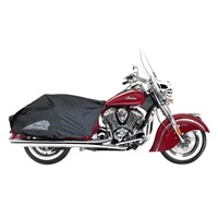 Indian Chief Half Travel Cover, Black