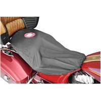 Indian Universal-Fit Half Seat Cover, Black