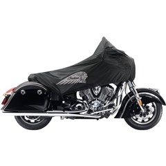 Indian Chieftain Half Travel Cover, Black