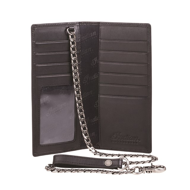 Biker Chain Wallet - Black