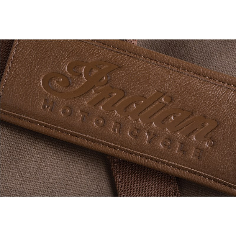 Waxed Cotton Duffel Bag by Indian Motorcycle®