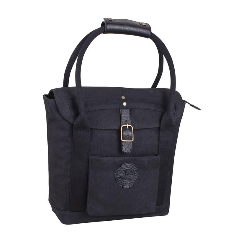 Women's Black Waxed Cotton Tote by Indian Motorcycle®