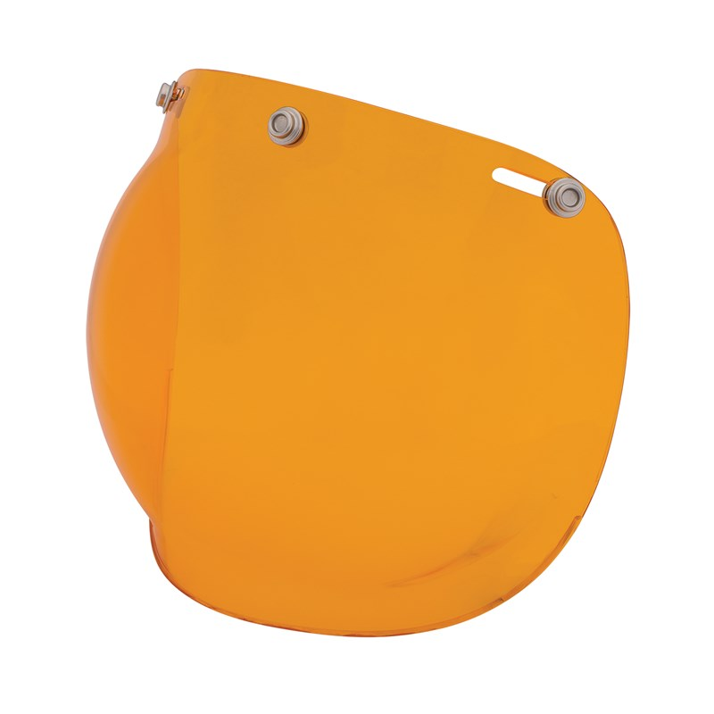 Orange Retro Open Face Helmet Bubble Visor by Indian Motorcycle®