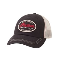 Quality Trucker Hat, Black/White