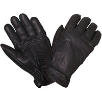 Women's Leather Classic Riding Gloves, Black