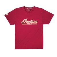 Men's Scout Logo Tee - Red