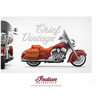 Indian Motorcycle® Vintage Chief Poster