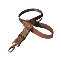 Indian Motorcycle Leather Lanyard - Brown