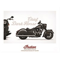 Indian Motorcycle® Poster - Chief Dark Horse®