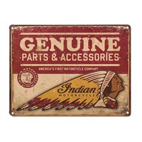 Genuine Parts Accessories Sign