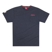 Men's Script Icon Tee -Charcoal