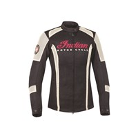Women's Mesh Lightweight Riding Jacket with Removable Lining, Black/White