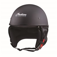Elite Half Helmet, Black