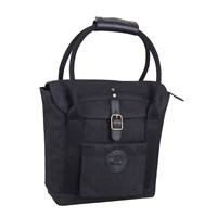 Women's Waxed Cotton Tote, Black