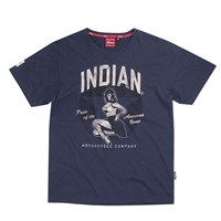 Men's Short Sleeve Bomber Girl Pride Tee by Indian Motorcycle®