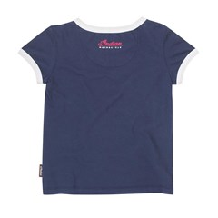 Toddler/Kids Logo T-Shirts, 2 Pack, Navy/White