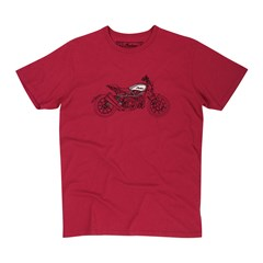 Men's FTR1200 Sketch T-shirt, Red
