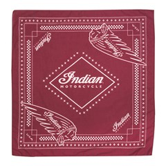 Cotton Pet Bandana with Printed logos, 2-Pack, Red/Black