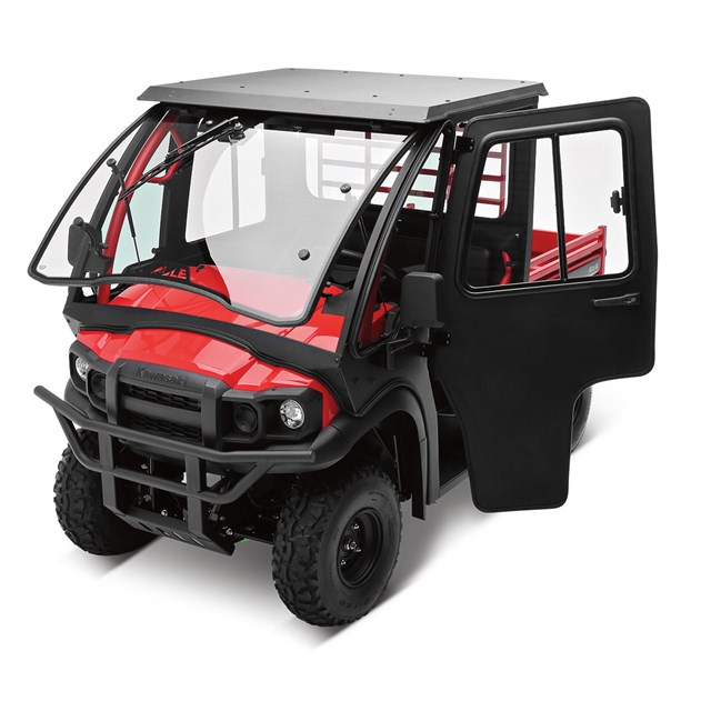 on Kawasaki Mule Side By