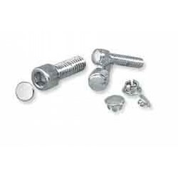 Allen Bolt Covers - Large, Chrome