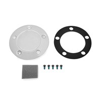 Clutch Cover Plate, Chrome