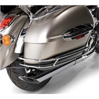 Saddlebag Side Trim Set, Chrome