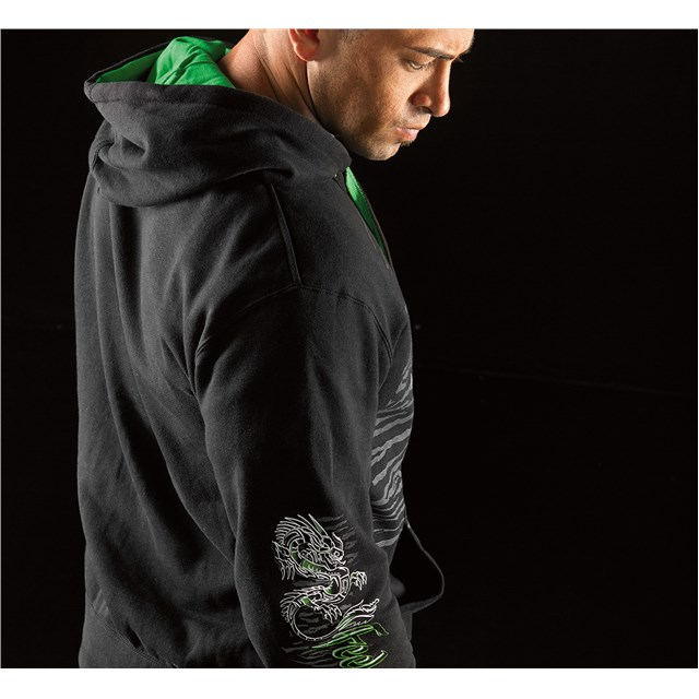 Dragon Slayer Zip-Front Hooded Sweatshirt