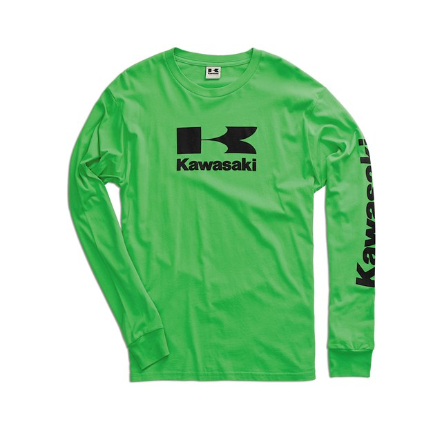 Stacked Logo Long Sleeve T-Shirt