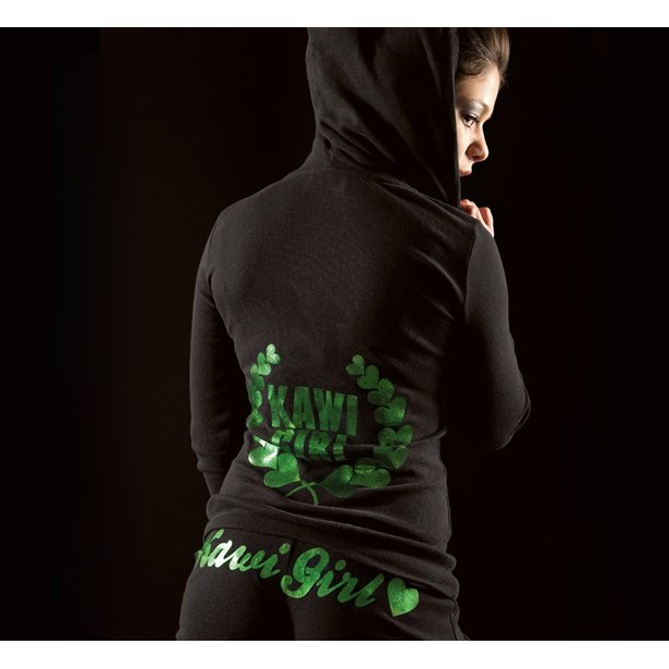 Kawi Girl™ Love Wreath Hooded Sweatshirt