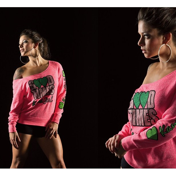 Kawi Girl™ Good Times Ballet Sweatshirt