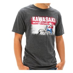 Kawasaki Heritage Logo Old School Sign T-Shirt