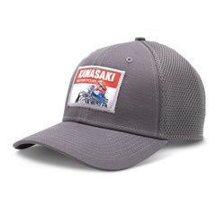 New Era 9Fifty Kawasaki Heritage Logo Old School Sign Cap