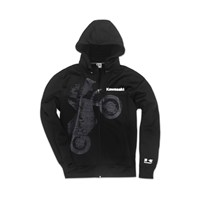 Wheelie Technical Zip-Front Hooded Jacket